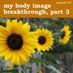 Podcast cover for My Body Image Breakthrough, Part 3 - Find Your Feisty Podcast, Episode 47